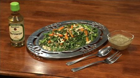 Pearl Couscous, Asparagus and Arugula Salad with Lemon Herb ...