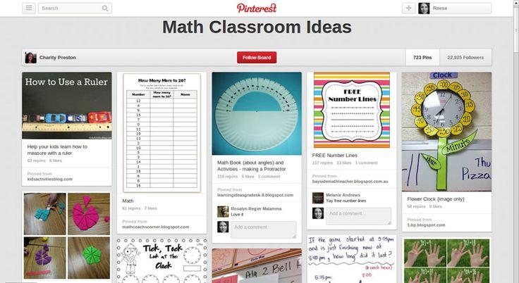 Classroom Ideas Maths : Pinterest math classroom ideas