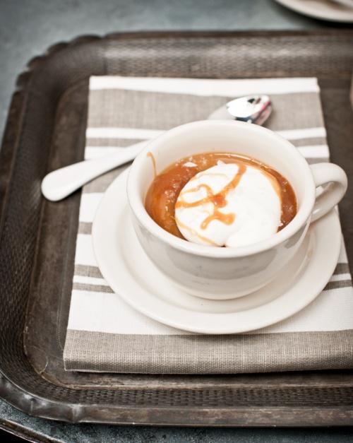 butterscotch pots de créme with caramel sauce recipe plus le gout de ...