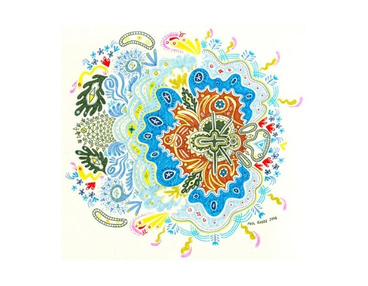 Color Drawings :Paul Goode