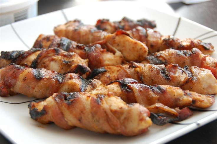 Sweet and Spicy Bacon Chicken...i BAKE it at 400 for 40 mins....soooo ...