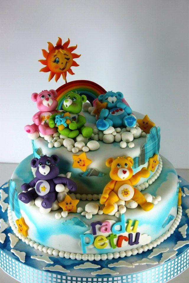 Care Bears cake. Increíblemente detallado
