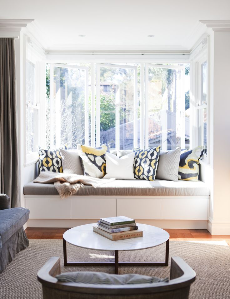 bay window seat in dining room living room pinterest