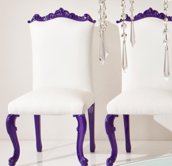 Dolcevita dining chairs lavender amp purple 2 pinterest