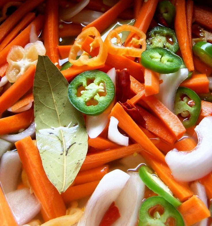 Escabeche-Spicy Pickled Carrots - Hispanic Kitchen Only put in the ...