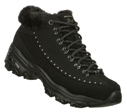 Skechers Women's D'Lites - Eskimo High Top Sneakers only $70.00