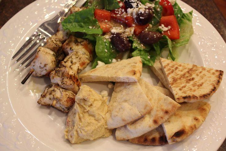 Greek Chicken Kabobs | Blog Goodies | Pinterest