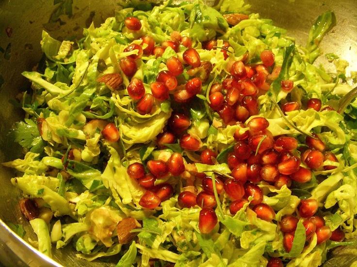 Shredded Brussels Sprouts Salad | salads | Pinterest