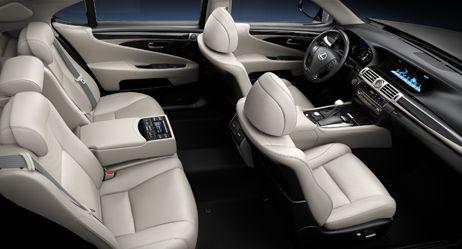 Lexus 460 - Interior