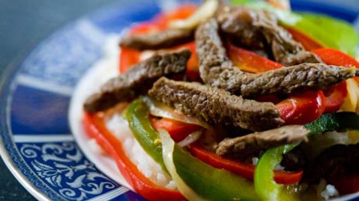 Quick Beef Stir-Fry with Bell Peppers | Easy and fast cooking. Just t ...