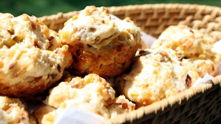 Jo Cooks — Bacon Cheddar Biscuits