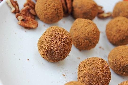 Cinnamon & Pecan Truffles - Homemade Truffles!