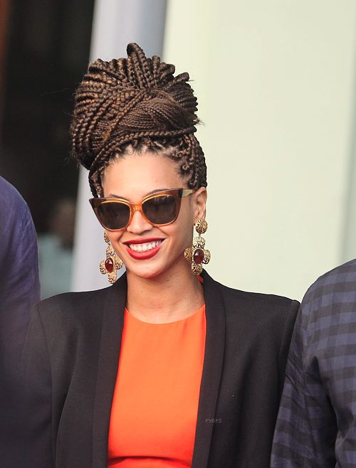 Queen Bey's poetic justice braids | Beauty. | Pinterest