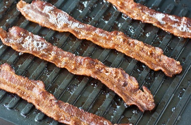 Panini-Grill Your Bacon — Punchfork | Recipes to Try | Pinterest