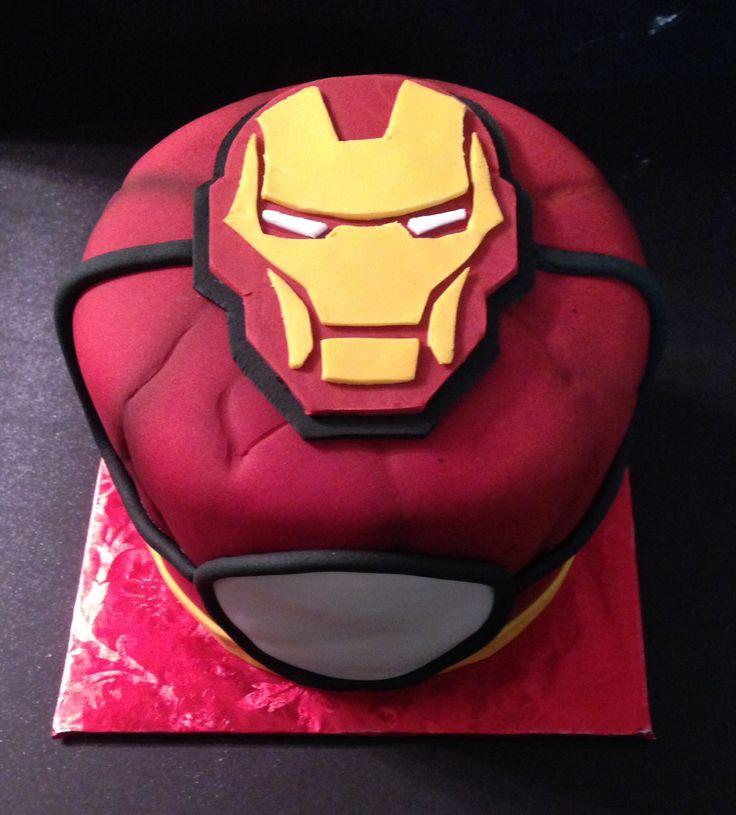 Easy Iron Man Cake Ideas 88262 Iron Man Cake Could Make Th