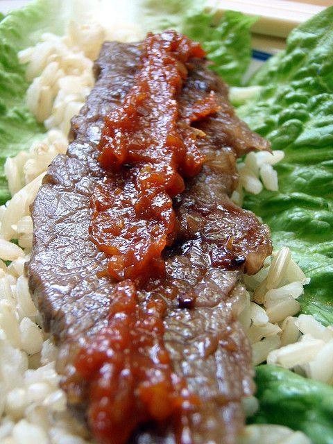 Korean BBQ Beef (Kalbi) and Vegetable Marinade | Recipe