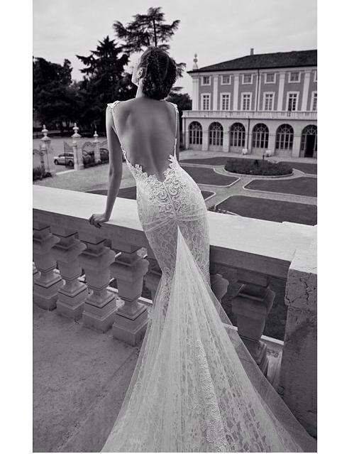 Gorgeous backless wedding dress wedding lust pinterest for Gorgeous backless wedding dresses