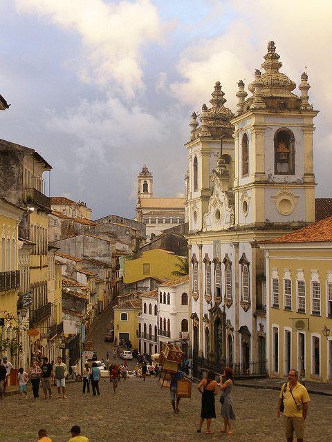 Pelourinho colonial district in Salvador, Bahia, Brazil (by subcomandanta).