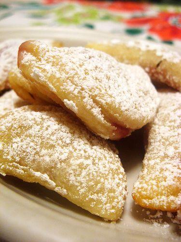 Raspberry Jam Kolaches (cream cheese pastry filled with jam)