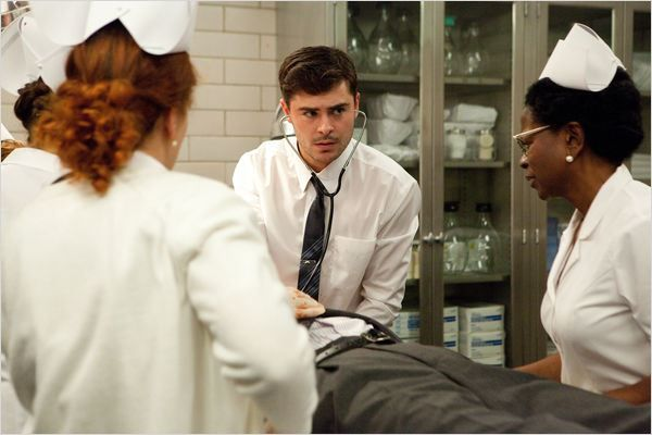 "Zac Efron is Dr Charles ""Jim"" Carrico 