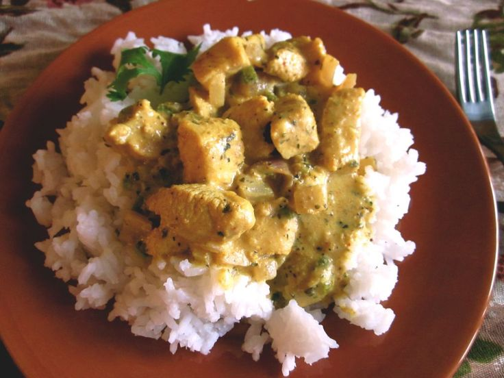 Basil Chicken in Coconut Curry Sauce - The Food Charlatan