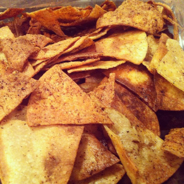 Homemade Tortilla Chips - Super Easy! | Favorite Recipes | Pinterest
