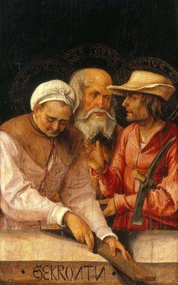 ST.CASTORIUS, Patron Saint of Sculptors