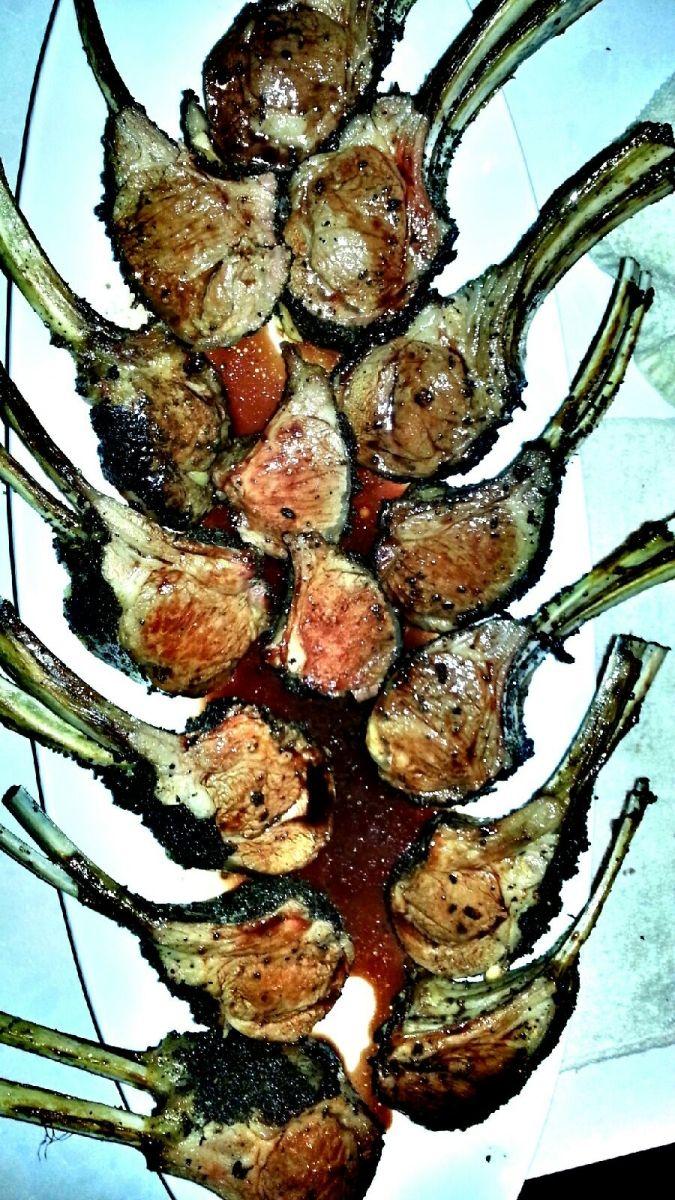 sage- crusted lamb chops   Taste of Pace Food   Pinterest