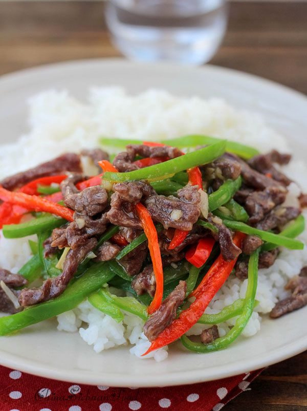 Stir-fried Beef with Green Peppers | Recipe