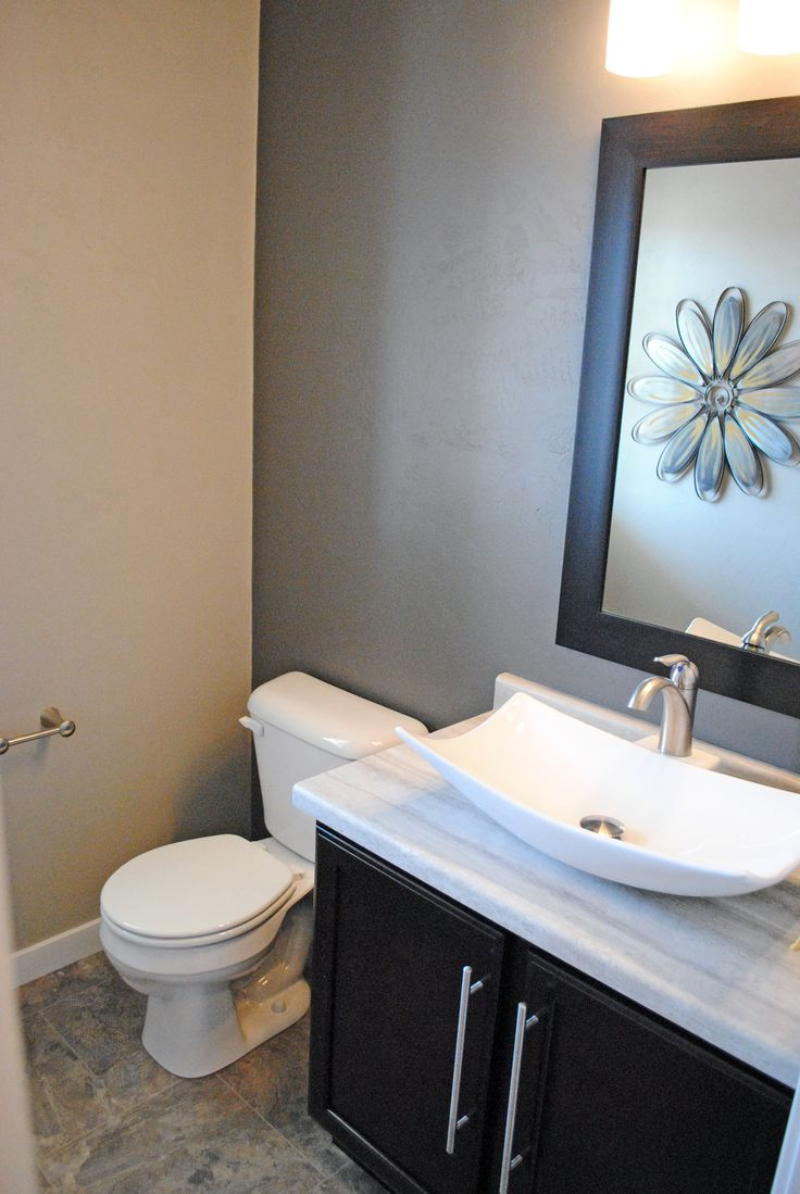 first floor half bath very modern build bathrooms pinterest