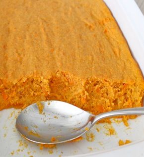 Sweet Potato Spoon Bread. The BakerMama puts a sweet potato spin on a ...