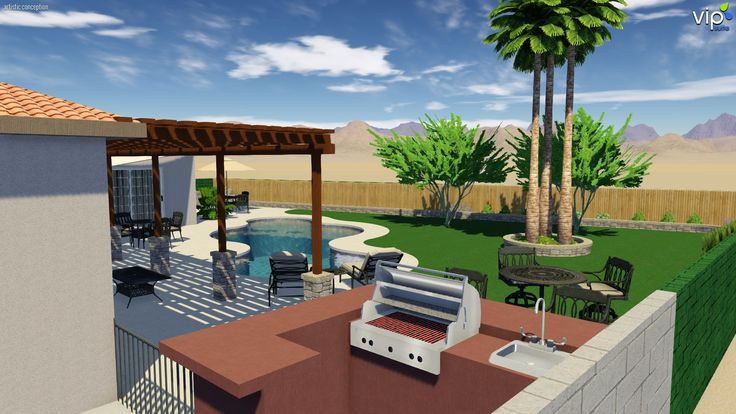 Pin By Raymond Medlin On 3d Landscape And Pool Design