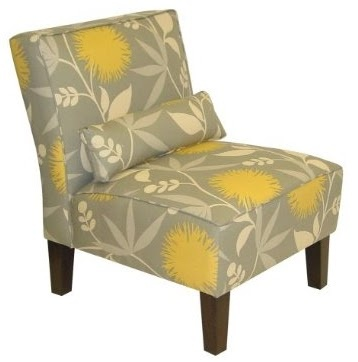 Yellow And Gray Chair For The Home Pinterest