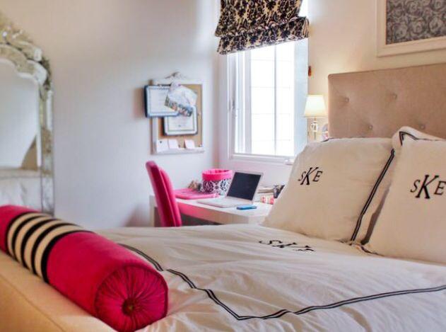 preppy bedroom teen girl monogram this is my room pintere