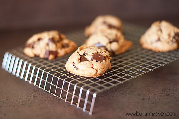 Flourless Peanut Butter and Chocolate Chip Cookies | Recipe