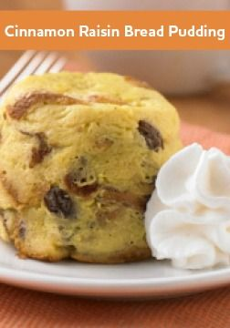 ... and cook this entire Cinnamon Raisin Bread Pudding with just one mug