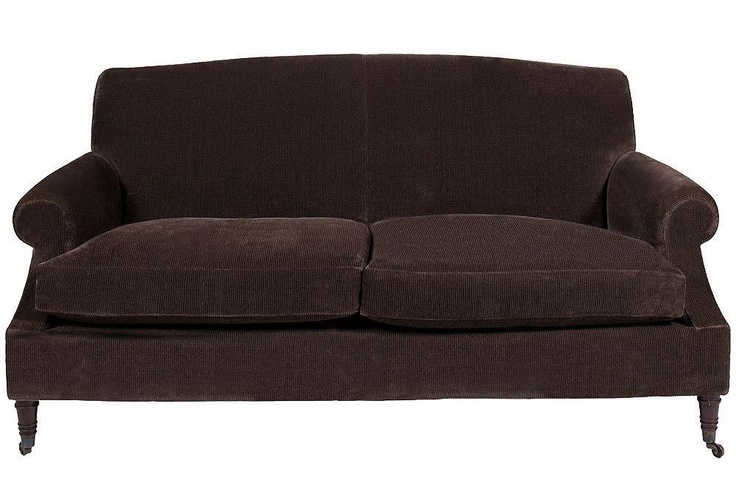 Custom Sofa in Great Plains Brown Velvet : 62f610526f88769f2162767b2bed846f from pinterest.com size 736 x 501 jpeg 98kB