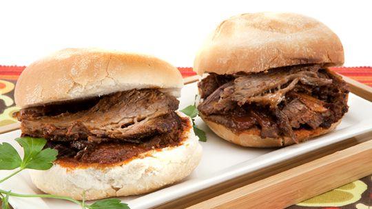 Oven-Braised Barbecue Brisket - Recipes - Best Recipes Ever - Rubbing ...
