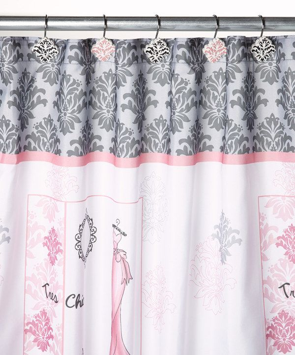 Look what I found on #zulily! Diva Shower Curtain Hook Set by Saturday ...