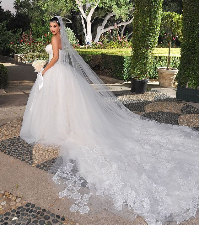 Kim Kardashian's Wedding Dress