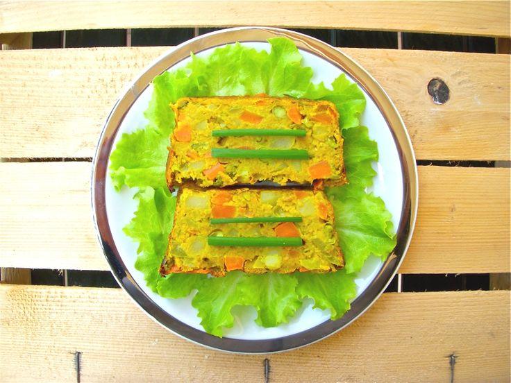 Polpettone freddo di verdure al curry on http://www.unocookbook.com