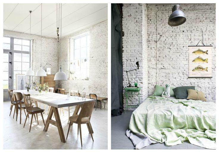 05 pared ladrillo blanco blog paredes de ladrillo visto - Pared ladrillo blanco ...