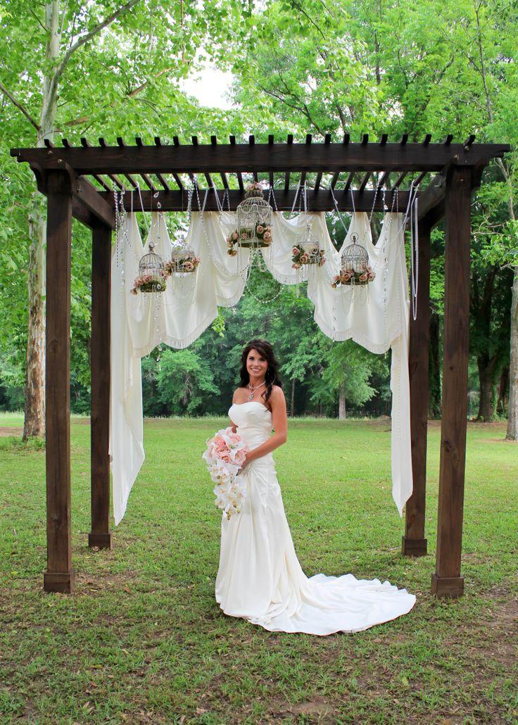 Beautiful Wedding Arbor Lauren S Country Shabby Chic