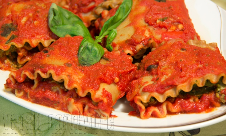 Vegan lasagna | Cooking With Amore | Pinterest