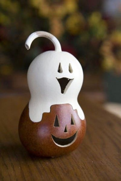 a gourd ~~ Two in one