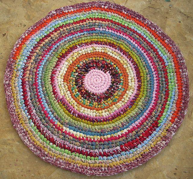 Crochet Rag Rug : rag rug