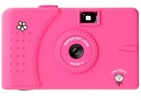 wide-angle lens 35mm film camera - pretty too!