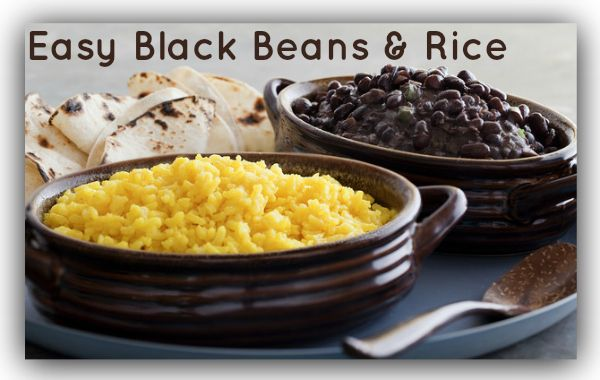 Easy Black Beans and Rice Recipe | Non-Crock-Pot Recipes We Love | Pi ...