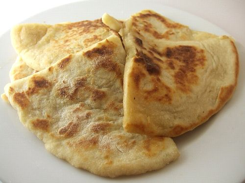 Irish potato farls - i'm sure we could do this with the white GF blend ...