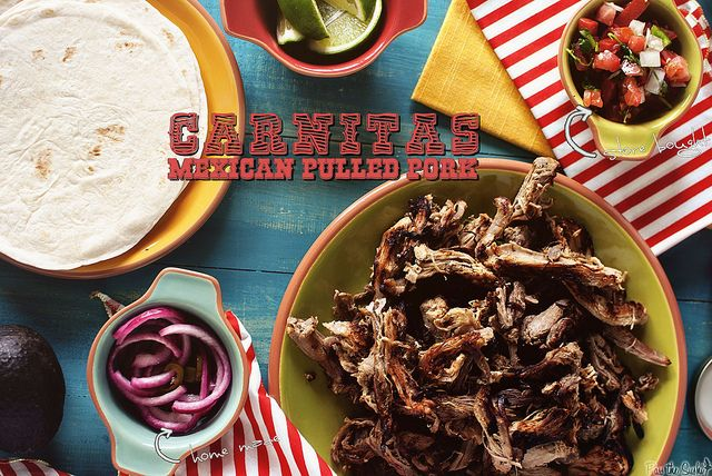 Mexican Pulled Pork (Carnitas)-0150a by PasstheSushi, via Flickr